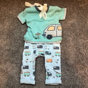 NEW baby dumpling outfit (3-6 months)